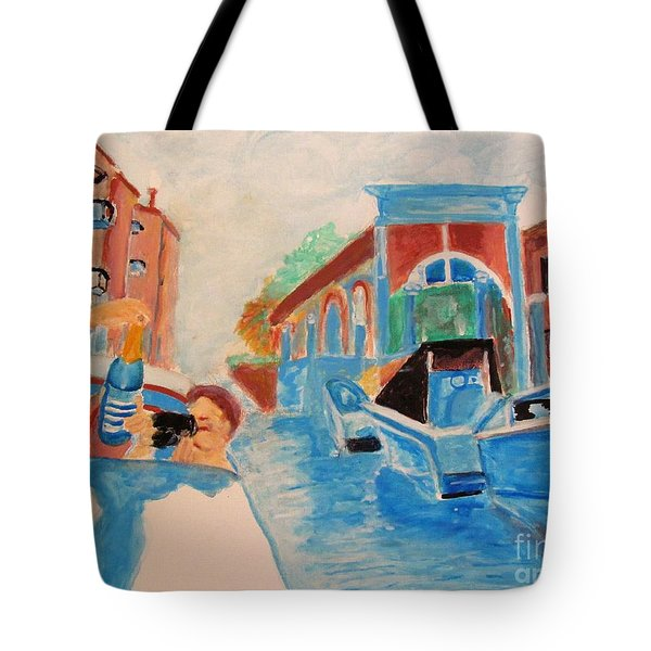 Venice Celebration Tote Bag