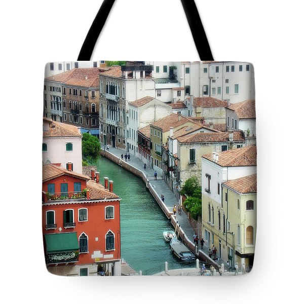 Venice City Of Canals Tote Bag by Julie Palencia