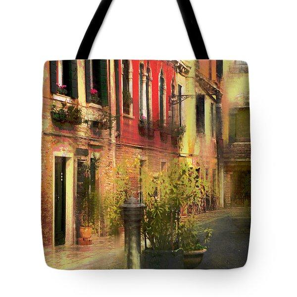 Venice Courtyard Tote Bag