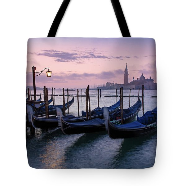 Tote Bag featuring the photograph Venice Dawn II by Brian Jannsen