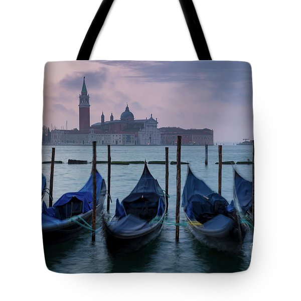 Tote Bag featuring the photograph Venice Dawn IIi by Brian Jannsen