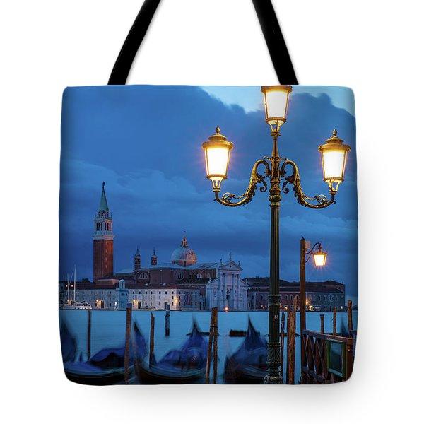 Venice Dawn V Tote Bag by Brian Jannsen