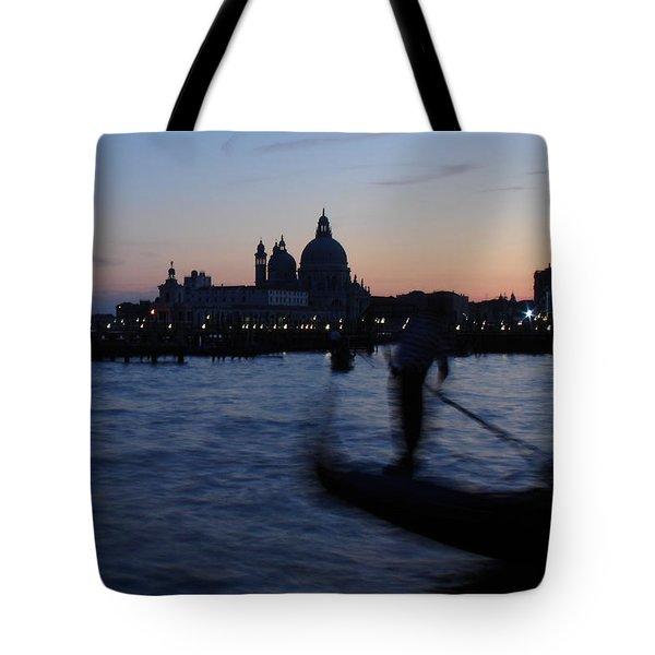 Venice Dusk Tote Bag by Ed Lee