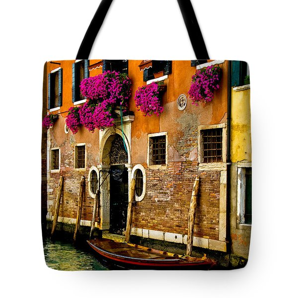 Venice Facade Tote Bag