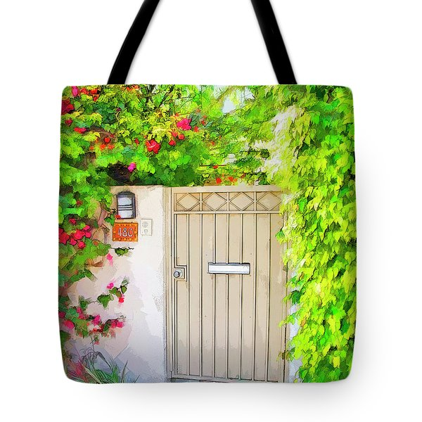 Tote Bag featuring the photograph Venice Gate by Chuck Staley