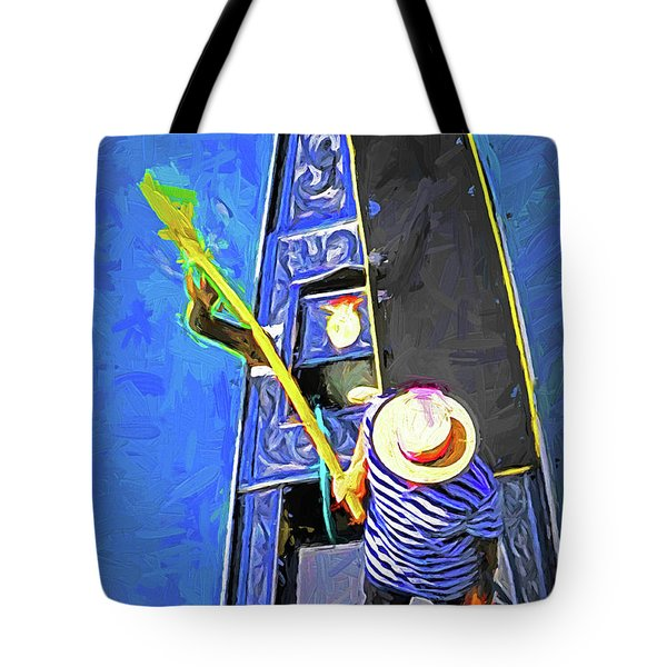 Venice Gondola Series #4 Tote Bag