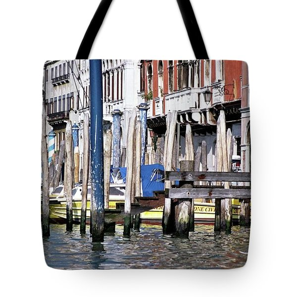 Tote Bag featuring the photograph Venice Grand Canal by Allen Beatty