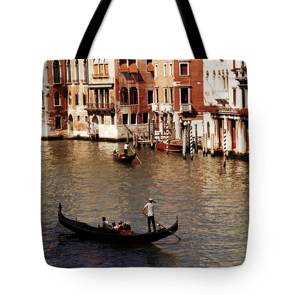 Tote Bag featuring the photograph Venice by Helga Novelli