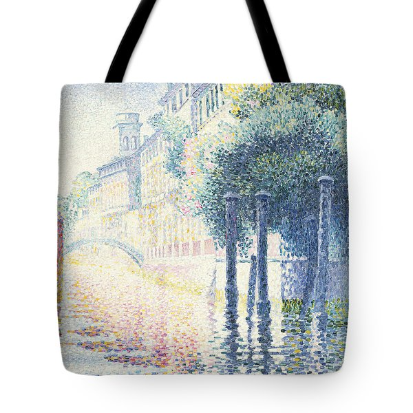 Venice Tote Bag by Henri-Edmond Cross