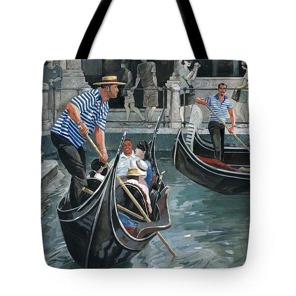 Venice. Il Bacino Orseolo Tote Bag