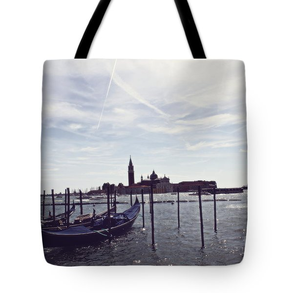 Tote Bag featuring the photograph Venice In A Dream by Cendrine Marrouat