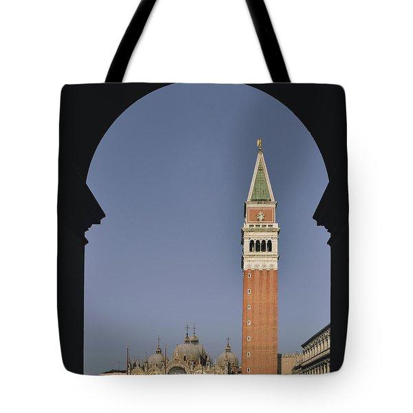 Venice In A Frame Tote Bag