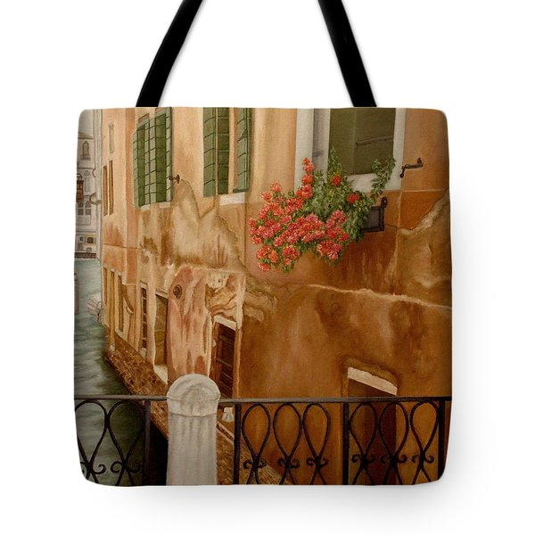 Venice In June Tote Bag