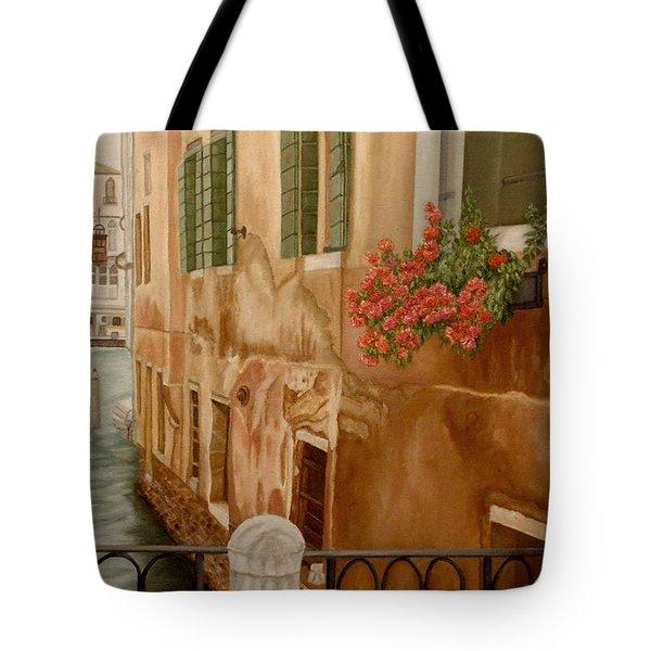 Venice In June Tote Bag