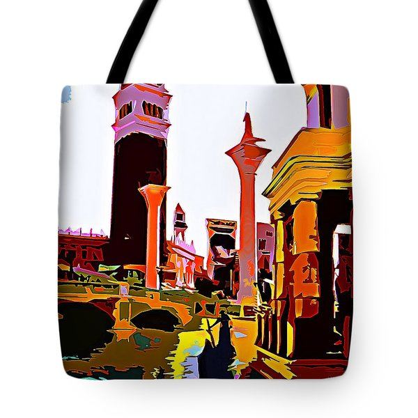 Venice In Vegas Tote Bag