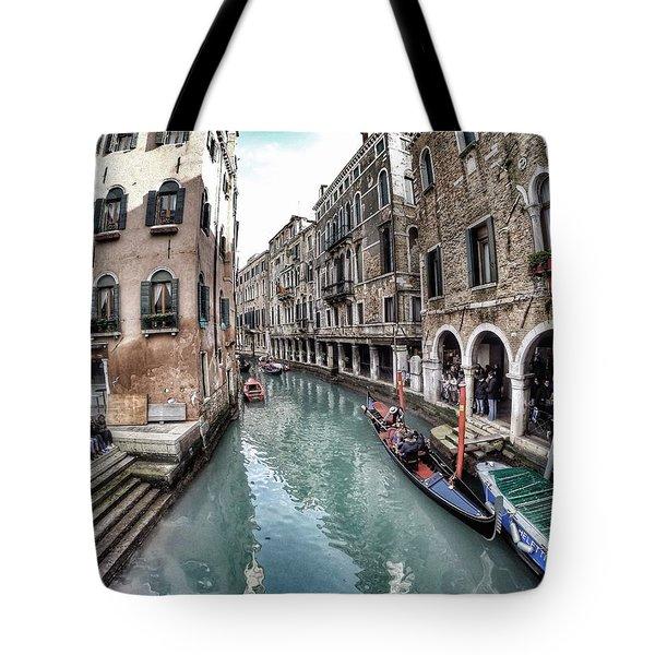 Venice In Wonderland Tote Bag