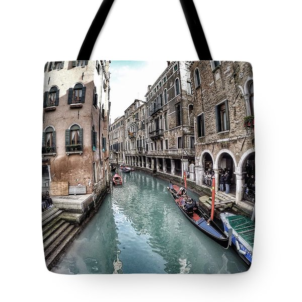 Venice In Wonderland Tote Bag