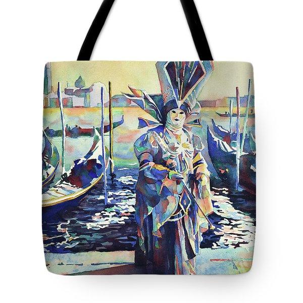 Venice Mask II- Italy Tote Bag