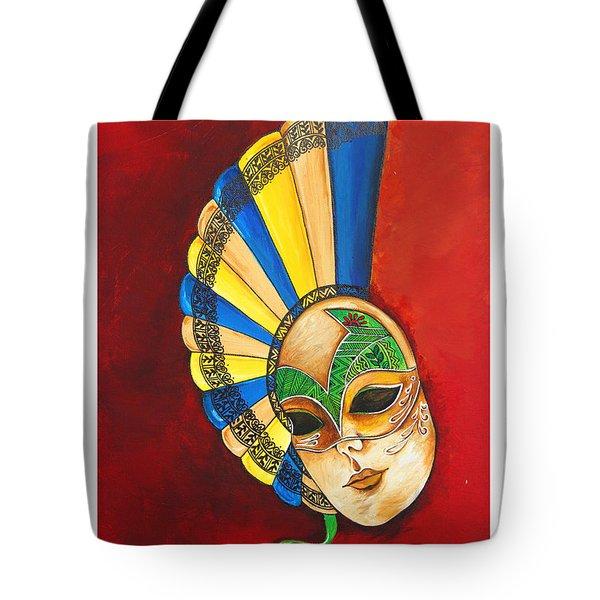 Venice Mask Tote Bag