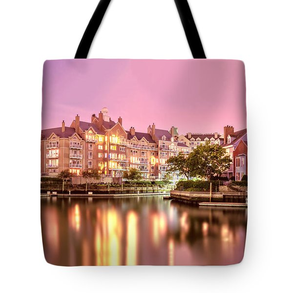 Venice Of Jersey City Tote Bag