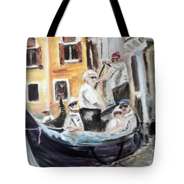 Venice Party Tote Bag