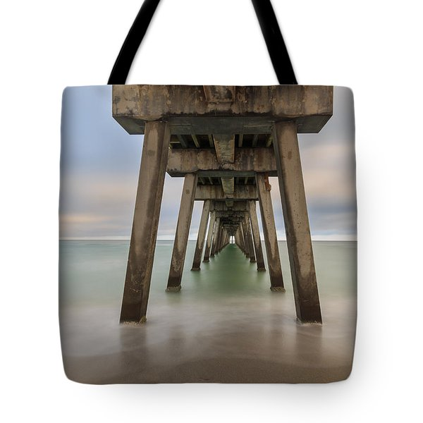 Tote Bag featuring the photograph Venice Pier by Paul Schultz