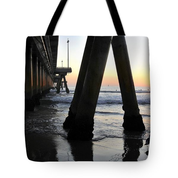 Venice Pylong Bird Tote Bag