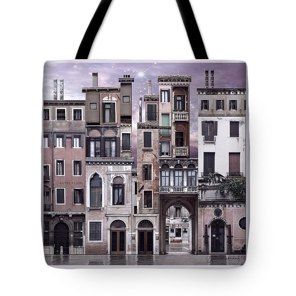 Venice Reconstruction 1 Tote Bag