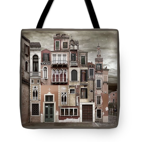 Venice Reconstruction 2 Tote Bag