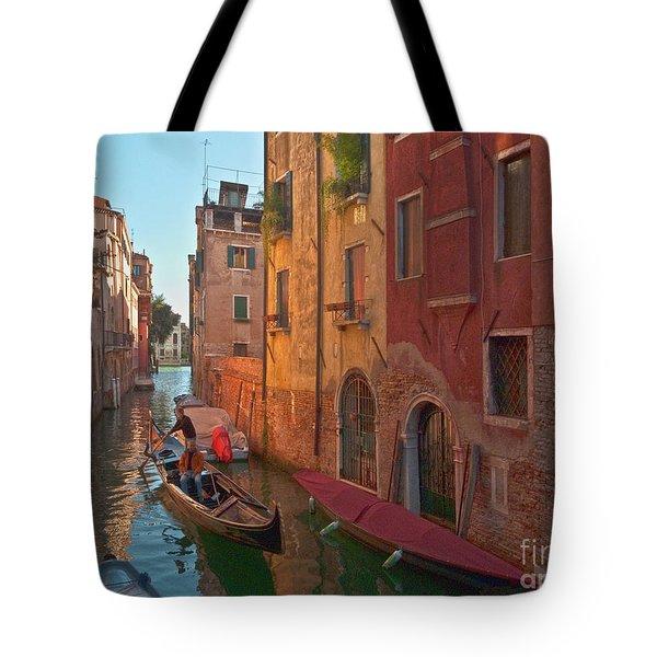 Venice Sentimental Journey Tote Bag by Heiko Koehrer-Wagner