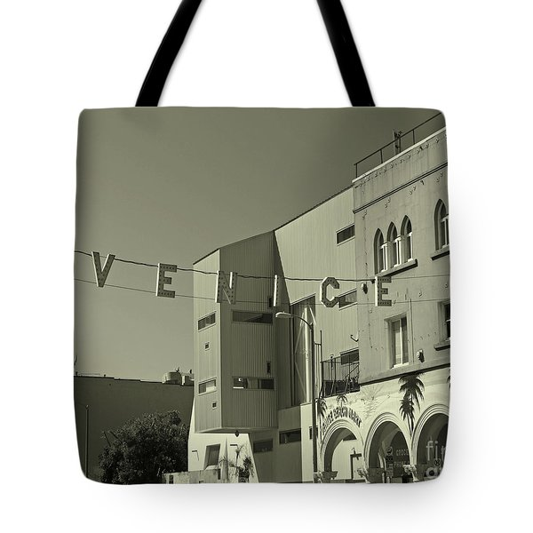 Venice Sign Tote Bag