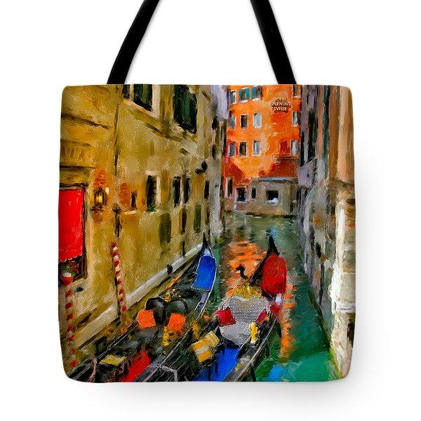 Tote Bag featuring the photograph Venice. Splendid Svisse by Juan Carlos Ferro Duque
