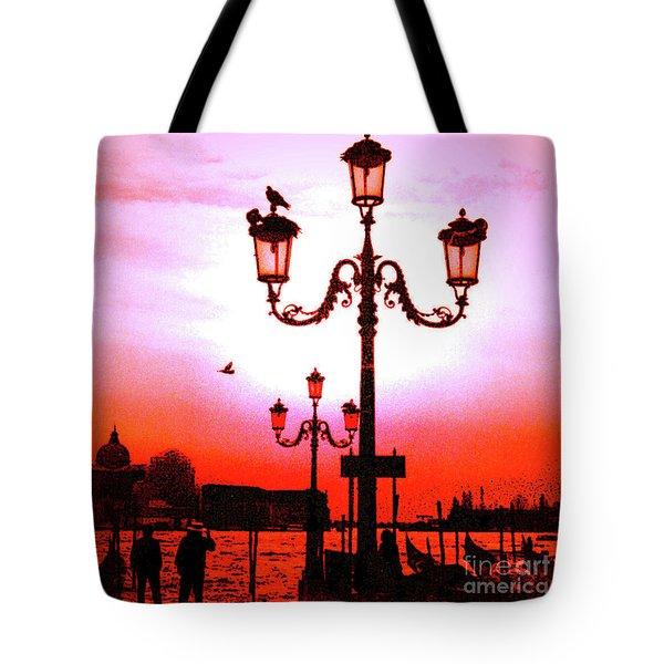 Venice Sunset Tote Bag
