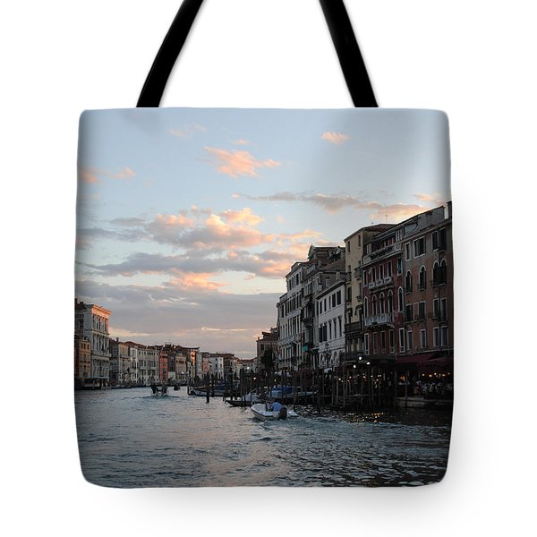 Venice Sunset Tote Bag