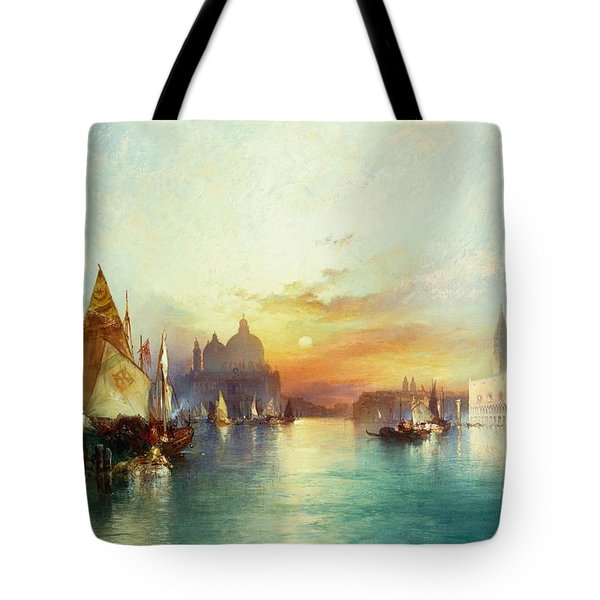 Venice Tote Bag by Thomas Moran