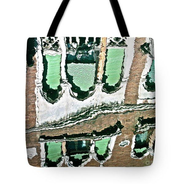 Venice Upside Down 2 Tote Bag by Heiko Koehrer-Wagner