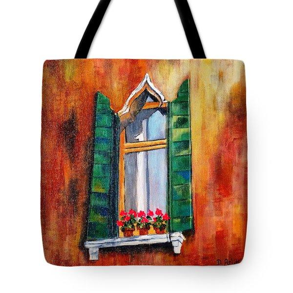 Venice Window Tote Bag