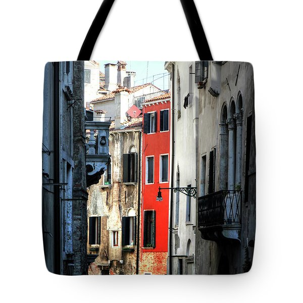 Tote Bag featuring the photograph Venice Xx by Tom Prendergast