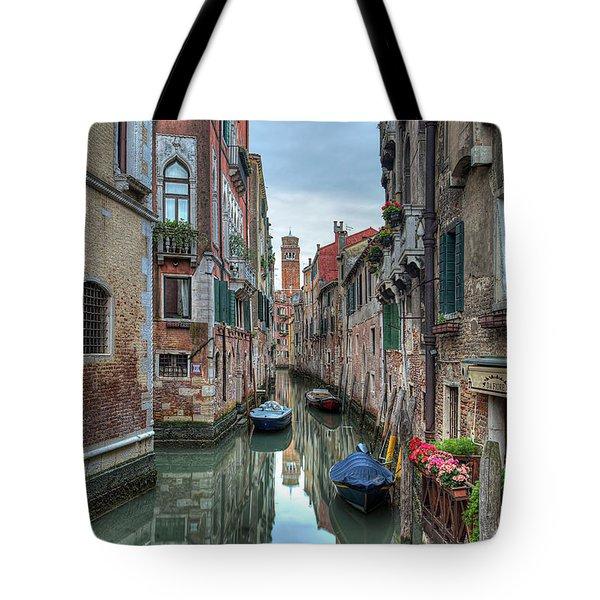Venetian Morning Tote Bag