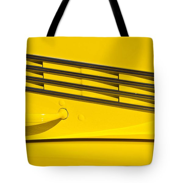 Vented Chrome To Yellow Tote Bag