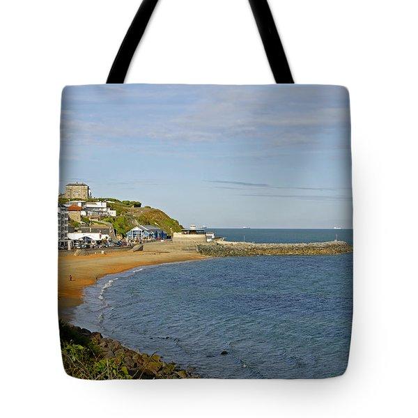 Ventnor Bay Tote Bag by Rod Johnson