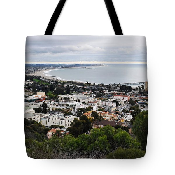 Tote Bag featuring the photograph Ventura Coast Skyline by Kyle Hanson
