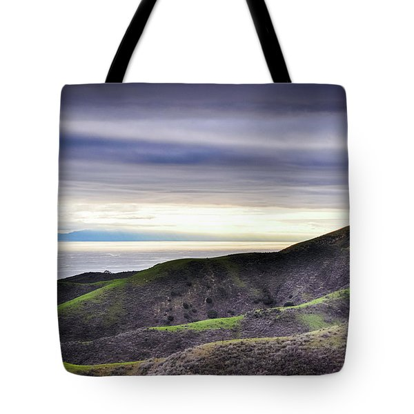 Tote Bag featuring the photograph Ventura Two Sisters by Kyle Hanson