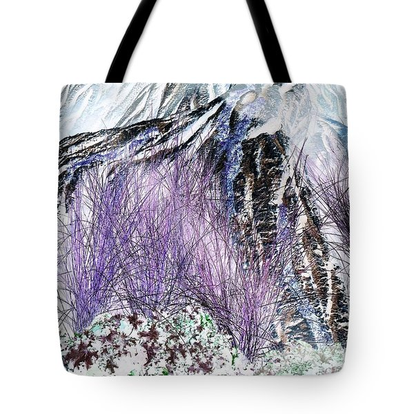 Venus Blue Garden Tote Bag