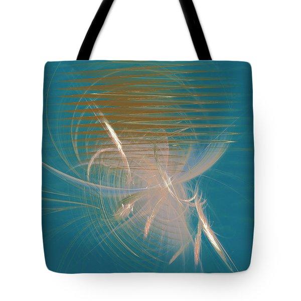 Venus Born Out Of The Sea Tote Bag