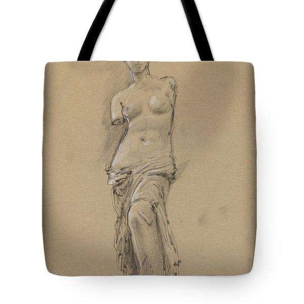 Venus De Milo Tote Bag by Juan Bosco