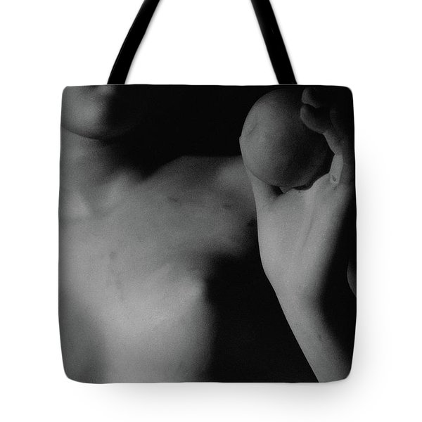 Venus With The Apple Tote Bag by Bertel Thorvaldsen