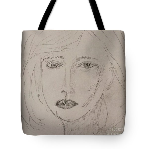 Vera In Pencil Tote Bag