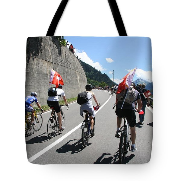 Photograph - Verbier - Tour De France 2009 by Travel Pics