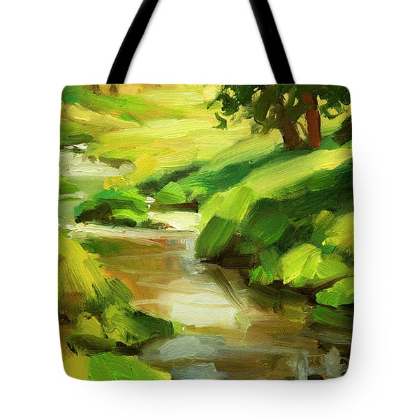 Verdant Banks Tote Bag